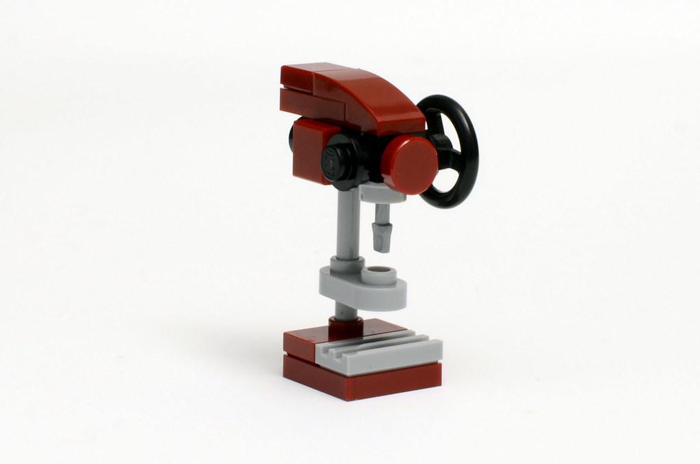 Dad's Garage - Drill Press