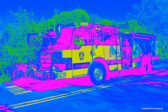 Fire truck No 1 - HSS!
