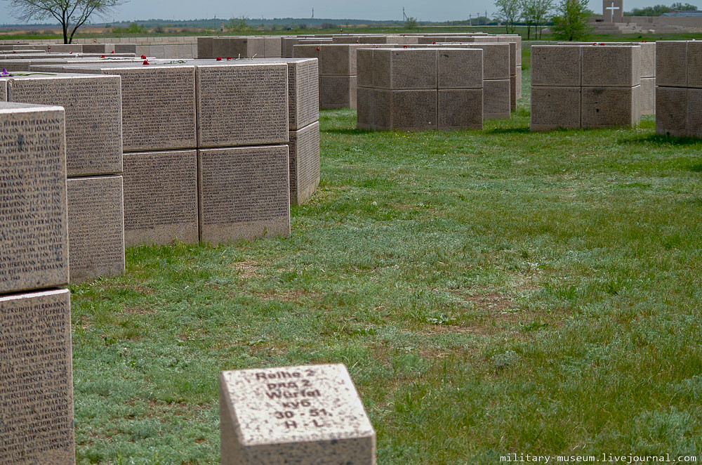 Военно-мемориальное кладбище Россошки под Волгоградом-74