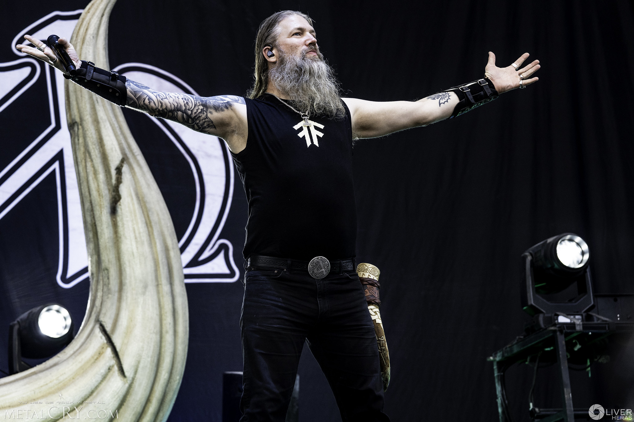 AMON AMARTH @ Download Madrid 2019