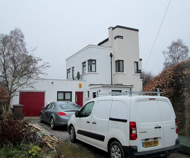 Art Deco/Moderne House, Inverness
