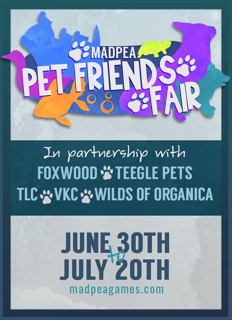 MadPea Pet Friends Fair is OPEN!