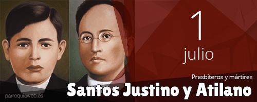 Santos Justino y Atilano