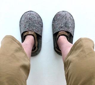Felt overshoes 70-366 (13-4454)