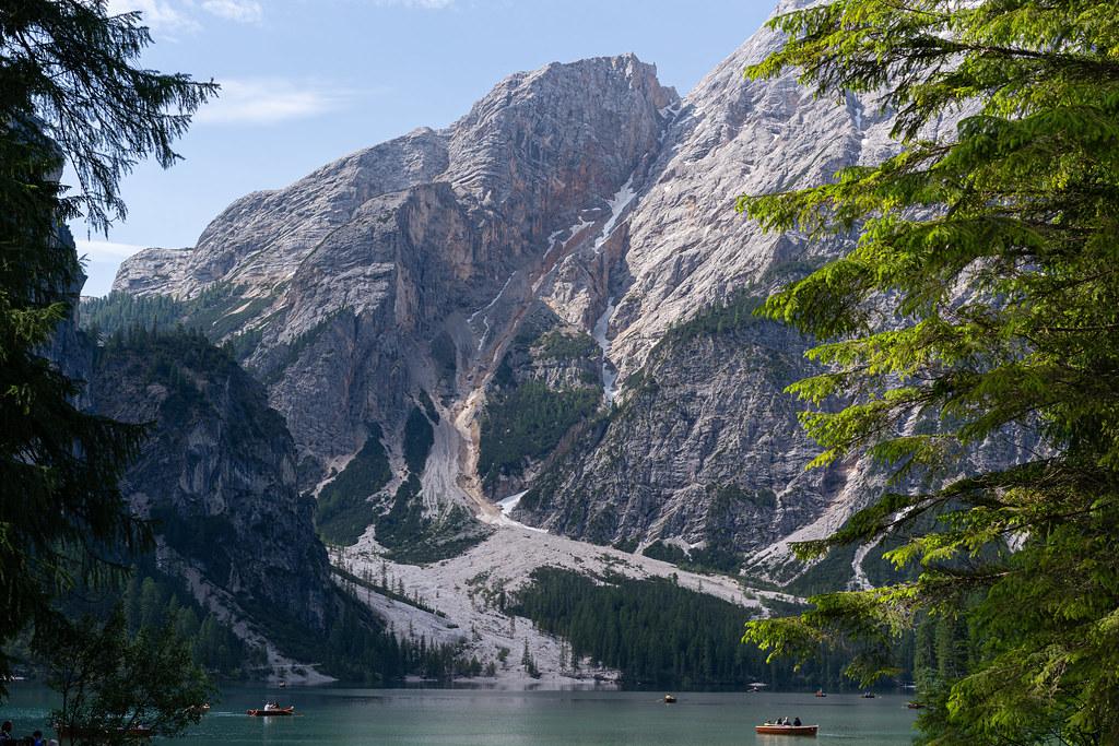 Croda del Becco from Lago di Braies