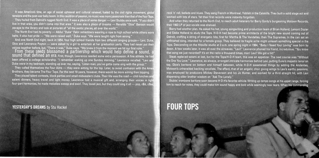 Four Tops Ultimate Collection: The Ultimate Collection (b02 & B0