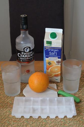 Zutaten für den Cocktail-Klassiker