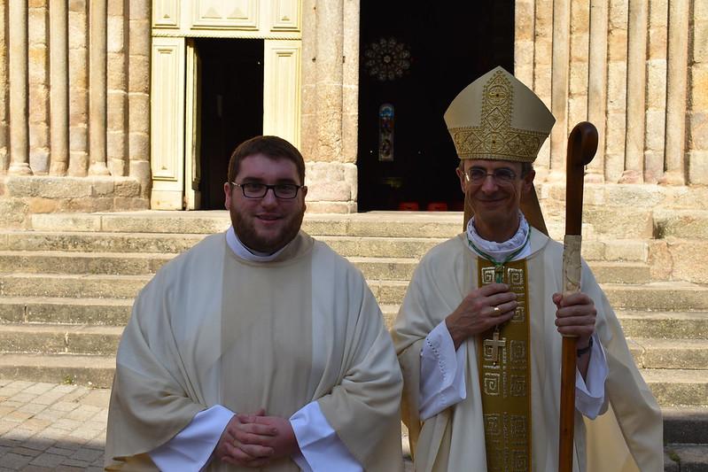 Ordination diaconale d'Emmanuel Renault