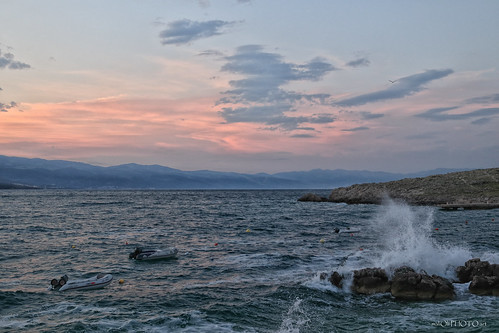 wind sky clouds sunrise down morning sea adriaticsea adriatic croatia hrvatska europe canon water boat waves