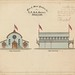 M5229 Plan of Show Pavilion for C. P. & A. Society Grafton (No.2) 1884