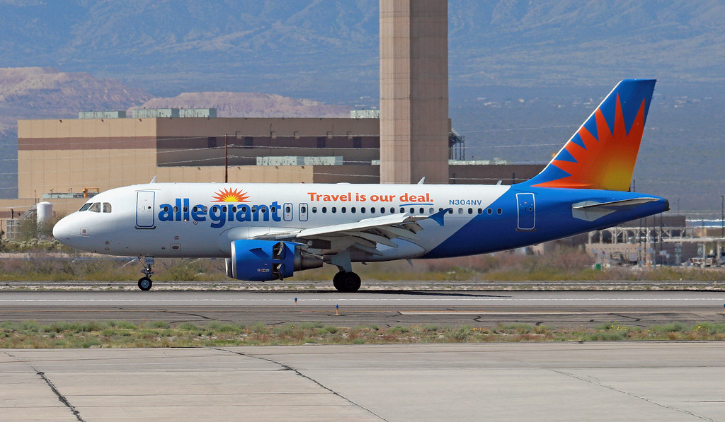 Allegiant Air, Airbus A319-112, N304NV