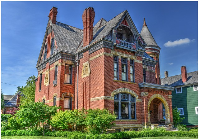 Victorian Home @ Fort Wayne, Indiana