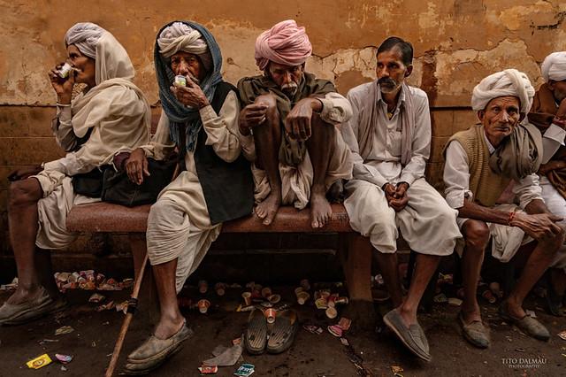 Chai. Pushkar. Rajasthan. India.