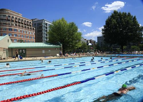 Summer Activities:  Francis Pool, Washington , DC
