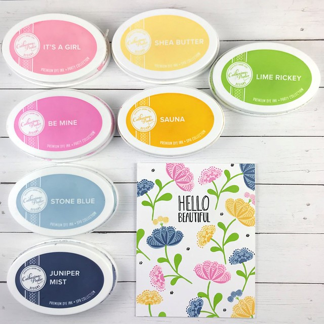Whimsical Blooms Hello Beautiful Jen Carter One Layer Color 1