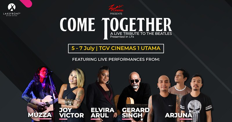Come Together - A Live Tribute to The Beatles Exclusively at TGV Cinemas