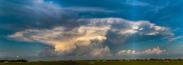 061419 - Evening Supercell & Lightning 002 (Pano)