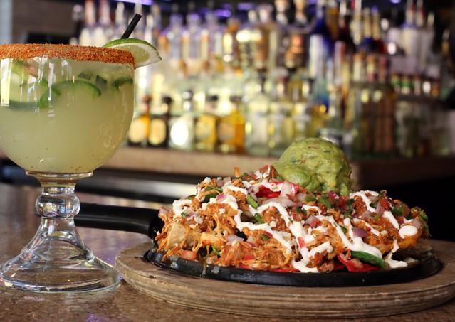 Nacho's and a HOT Margarita