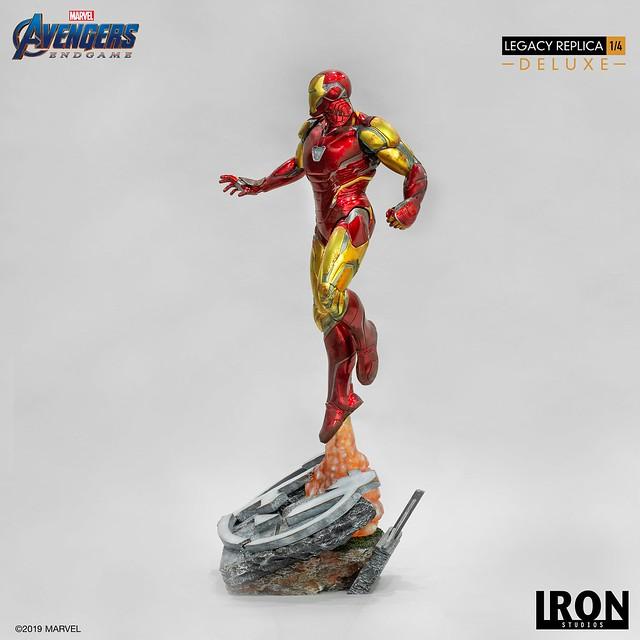 Iron Studios Legacy Replica 系列《復仇者聯盟:終局之戰》鋼鐵人馬克85 Iron Man Mark LXXXV 1/4 比例全身雕像作品 普通版/豪華版