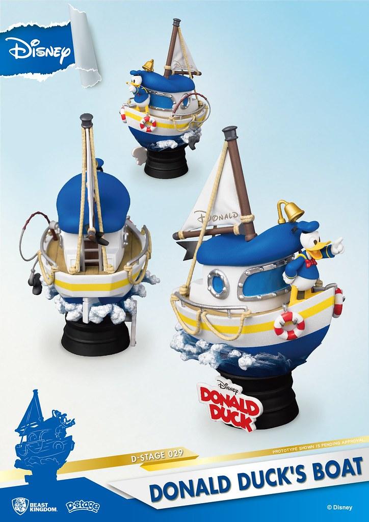 野獸國 夢-精選 系列 再推三款《迪士尼》新作!奇奇蒂蒂、史迪奇、唐老鴨登場~ D-Stage-028~030