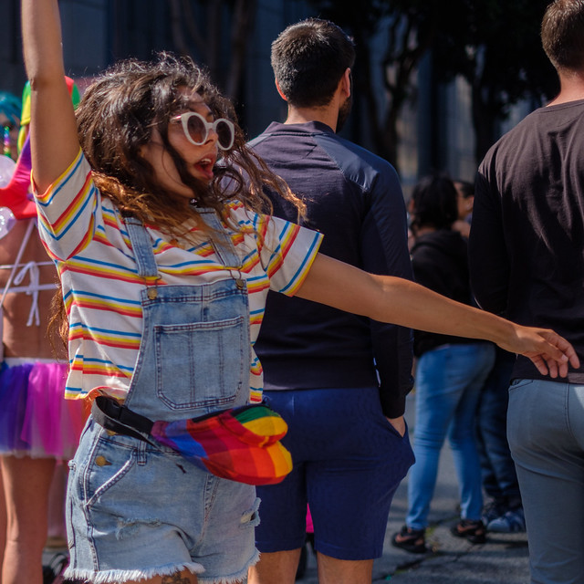 SF Pride 2019: The group of citizens stands unshakable