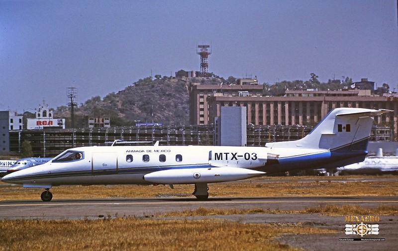 Armada de México / Learjet 25D / MTX-03