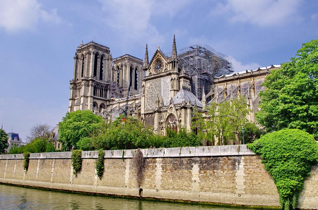 74 Paris Mai 2019 Notre Dame De Paris Un Mois Après L