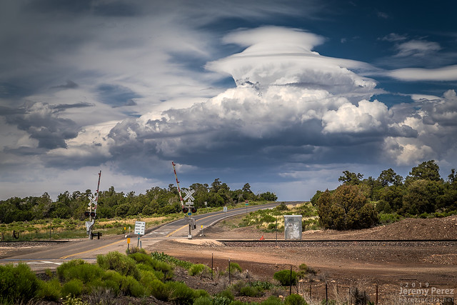 30 June 2019 — Cosnino, AZ — Convection and Pileus