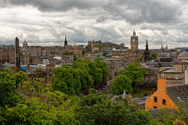 Edinburgh / View from Calton Hill