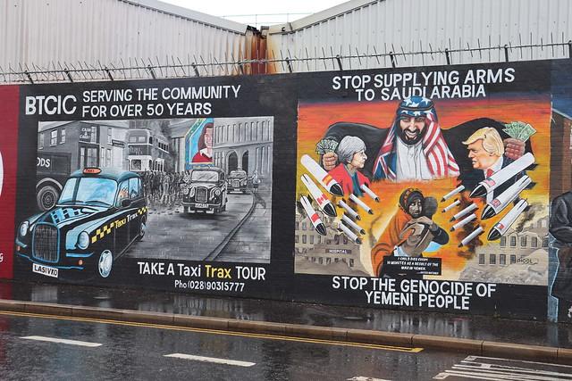 Murales Que ver en Belfast