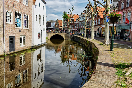 Canal View Of Oudewater