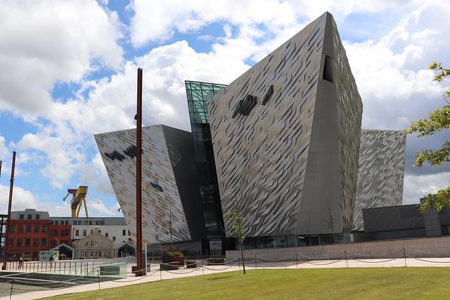 Que ver en Belfast Museo del Titanic