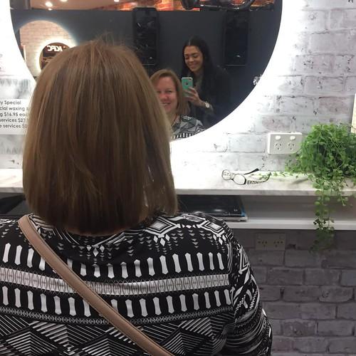 new hair back