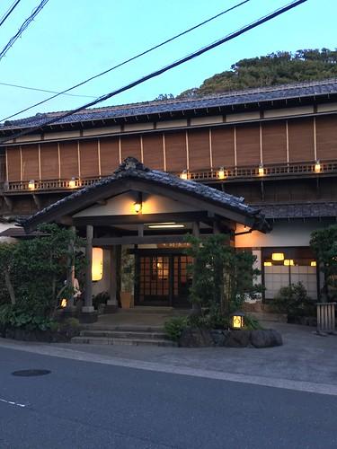 鮎を食べる夕べ at 日影茶屋