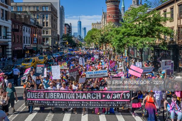 Reclaim Pride Coalition's Queer Liberation Marc