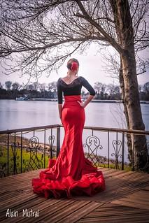Sevillana dancer
