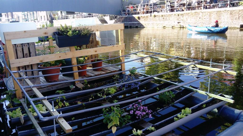 Jardín flotante Malinas
