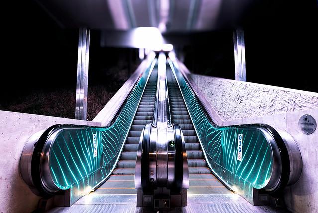 Escalator reflexions