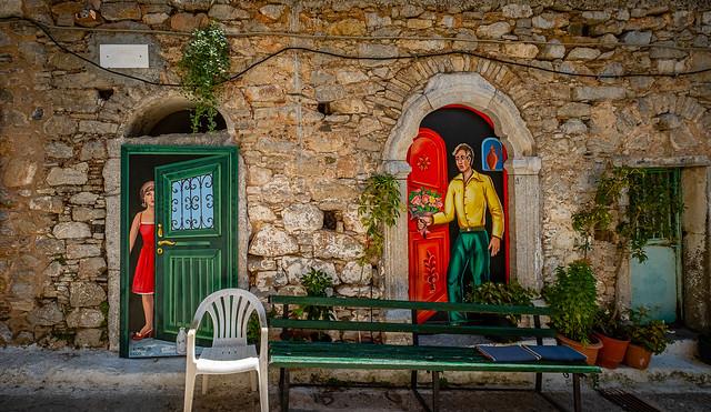 Olimpi Village, Chios Island, Greece