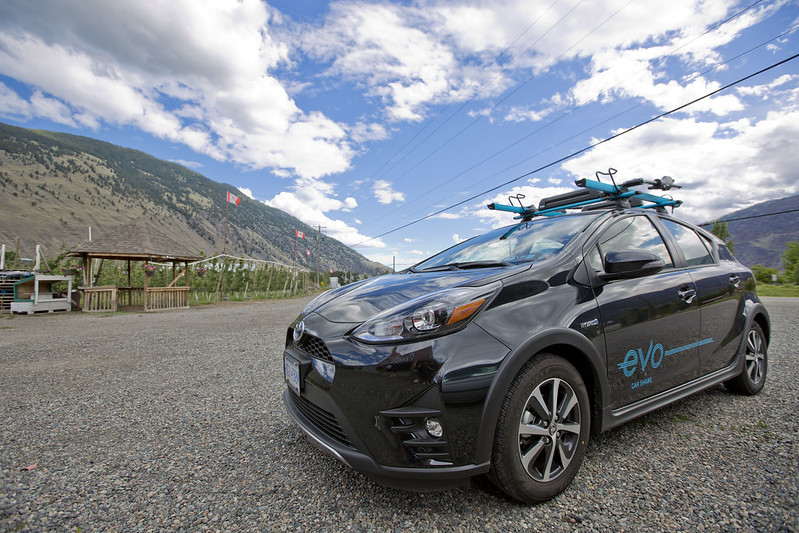 Evo Car Sharing @ Osoyoos, Okanagan