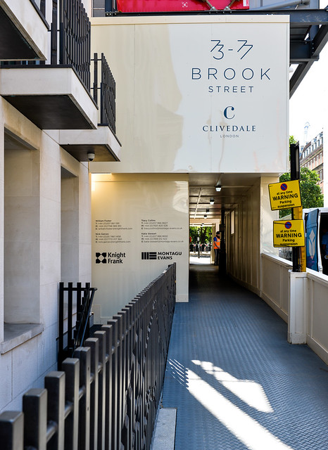 Brook Street Hoarding - Clivedale