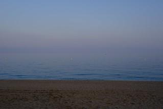 Fog Beach Lloret de Mar