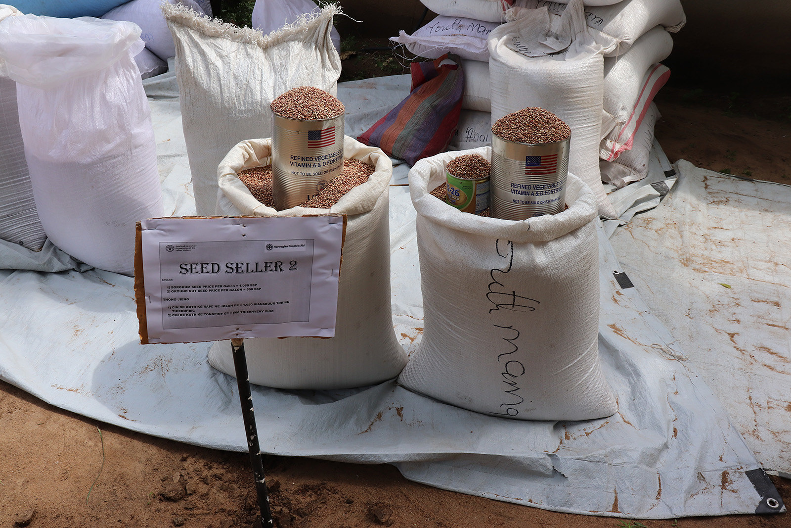 Sustainable agriculture for economic resiliency project in South Sudan