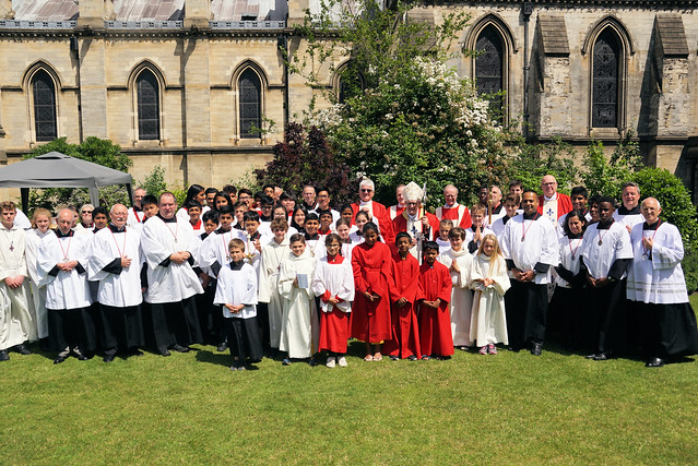 Altar Servers Mass, St John's Cathedral, Norwich, June 19