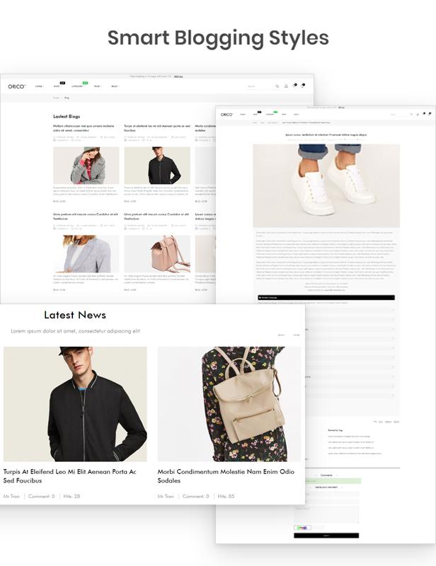 Elegant Blogging Styles - Smart Blog Module