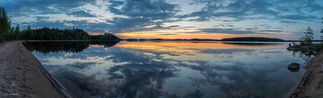 midsummer night panorama