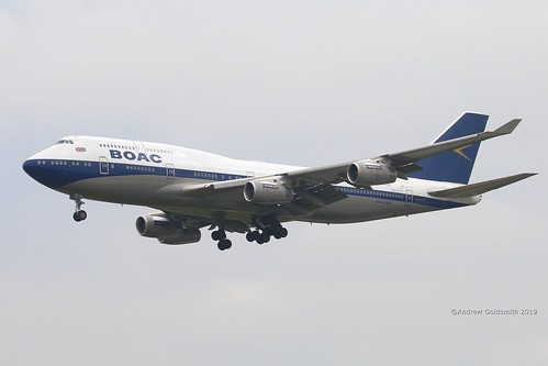 G-BYGC B.747 British Airways (BOAC retro scheme) Heathrow 19-06-2019 3714 | by sickbag_andy