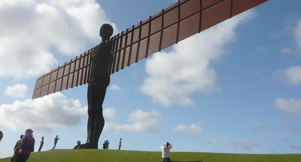 Angel of the North | Mooistestedentrips.nl