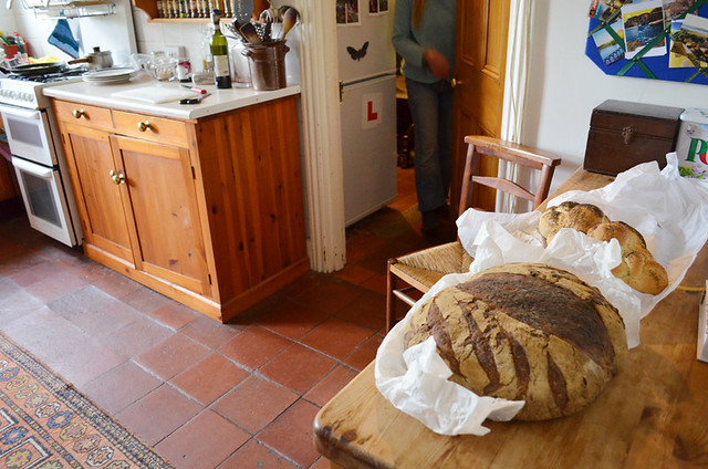 Fresh bread in Hay on Wye