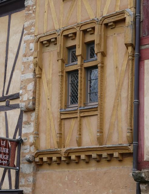 Au fil des rues, cité Plantagenêt, Le Mans, Sarthe, Pays de la Loire, France.